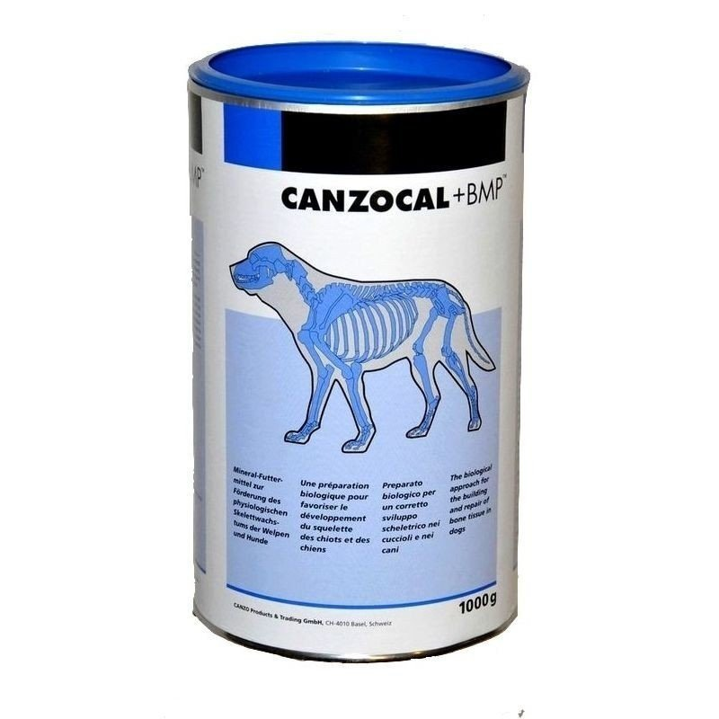 Canzocal + BMP 1kg - traitement naturel arthrose chien âgé, chiot en croissance
